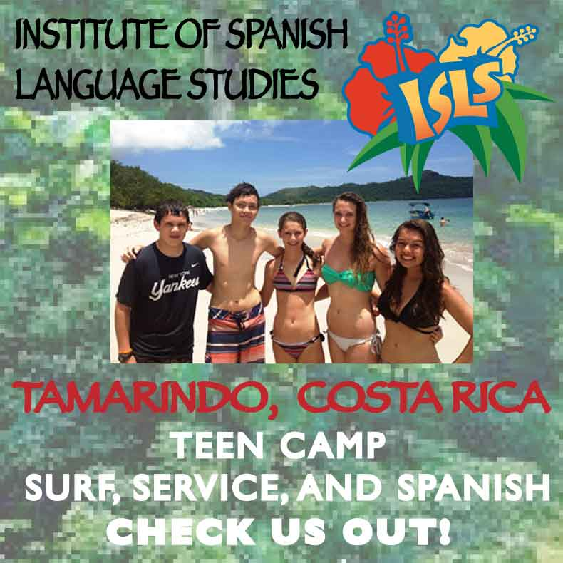 Tamarindo, Costa Rica, Teen Camp: Surf, Service, and Spanish